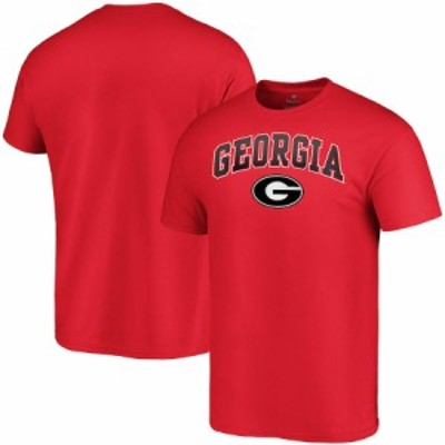 "ファナティックス メンズ Tシャツ ""Georgia Bulldogs"" Fanatics Branded Campus T-Shirt - Red"