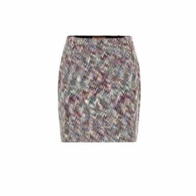 ミッソーニ Missoni レディース ミニスカート スカート Knitted wool miniskirt