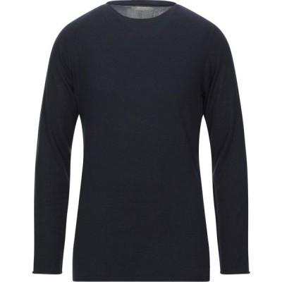 ラネウス LANEUS メンズ ニット・セーター トップス sweater Dark blue