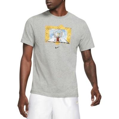 ナイキ シャツ トップス メンズ Nike Men's Dri-FIT Photo T-Shirt DkGreyHeather