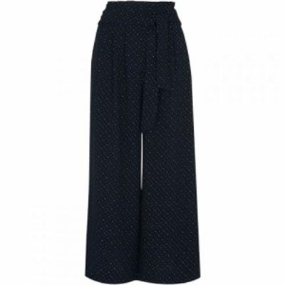 ホイッスルズ Whistles レディース ボトムス・パンツ Micro Spot Tie Waist Trouser Navy Multi