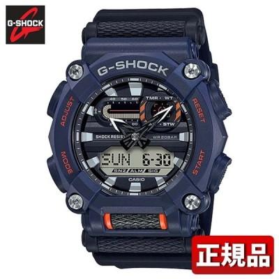 CASIO カシオ G-SHOCK Gショック ジーショック GA-900-2AJF メンズ 腕時計 クオーツ アナログ デジタル アナデジ 黒 ブラック 青 ネイビー ブルー 国内正規品