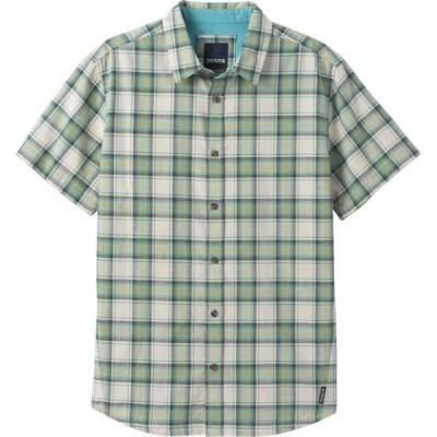 プラーナ PRANA メンズ シャツ トップス Graden Shirt STONE