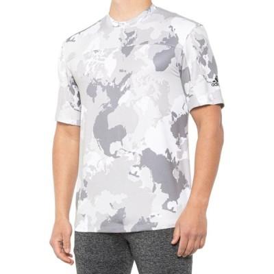 アディダス adidas メンズ Tシャツ トップス Con Camo T-Shirt - Short Sleeve White