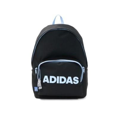 (adidas/アディダス)アディダス リュック adidas スクールバッグ リュックサック 通学 バックパック スクール スポーツ A4 20L 部活 中学生 高校生 57592/ユニセックス ブラック系1