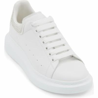 アレキサンダー マックイーン ALEXANDER MCQUEEN メンズ スニーカー シューズ・靴 Oversize Sneaker Whi/Whi/Silver