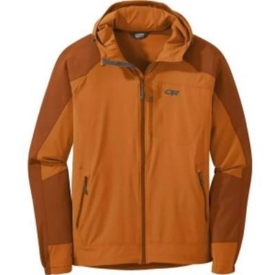 アウトドアリサーチ メンズ ジャケット・ブルゾン アウター Ferrosi Hooded Jacket Copper/Umber