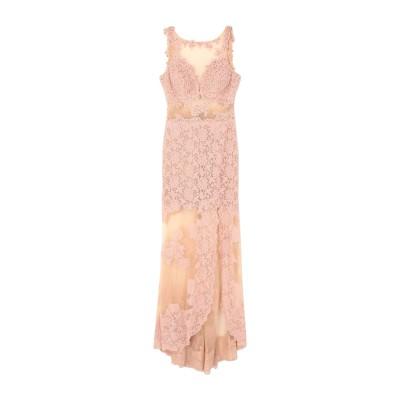 ALLURE ロングワンピース&ドレス ピンク 8 ポリエステル 100% ロングワンピース&ドレス