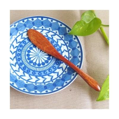 【ステイホームSALE】定形外郵便対応 木製 天然木 Woodバターナイフ 14.5cm カトラリー シンプル