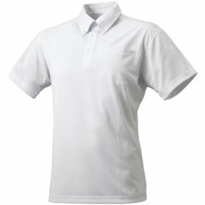 ボタンダウン無地ポロシャツ(左胸ポケット付) SSK エスエスケイ ポロシャツ (DRF211)