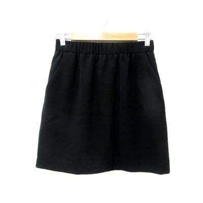 【中古】ティアラ Tiara タイトスカート ミニ 2 黒 ブラック /MN レディース 【ベクトル 古着】