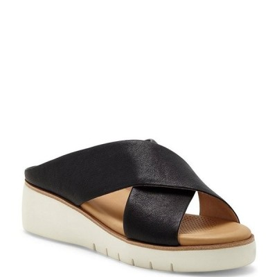 コルソ コモ レディース サンダル シューズ Bilanka Leather Platform Wedge Sandals