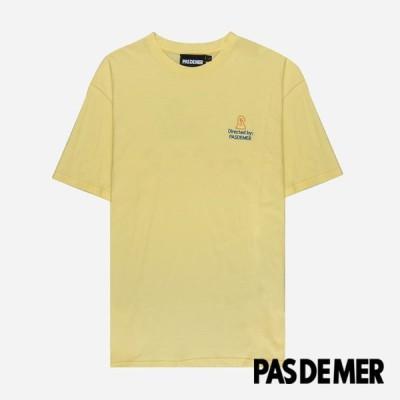 【PAS DE MER/パドゥメ】CINEMA T-SHIRT  Tシャツ / LIGHT YELLOW