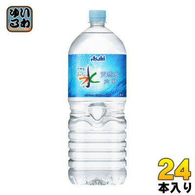 アサヒ おいしい水 六甲 2L ペットボトル 24本 (6本入×4 まとめ買い)