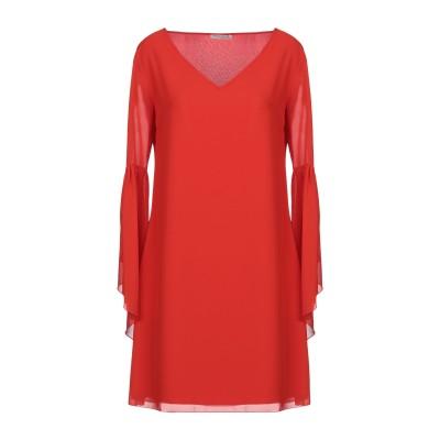 HOPE COLLECTION ミニワンピース&ドレス レッド S ポリエステル 100% ミニワンピース&ドレス