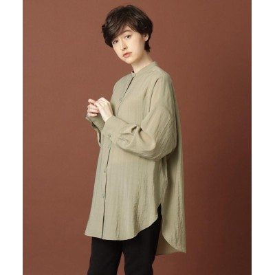 DRESSTERIOR(Ladies)(ドレステリア(レディース)) オーバーサイズソフトシャツ