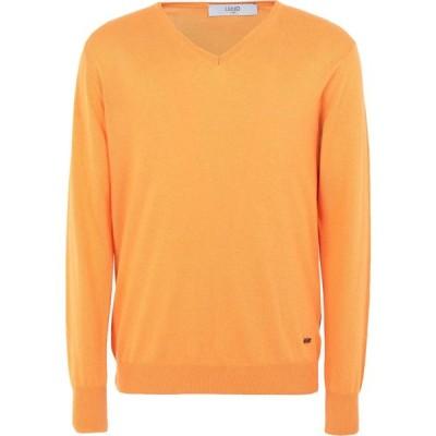 リウジョー LIU JO MAN メンズ ニット・セーター トップス sweater Orange