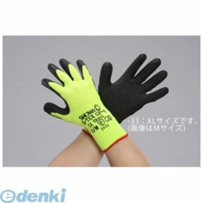 エスコ [EA354GJ-33] XL 耐切創手袋(天然ゴムコーティング) EA354GJ33【キャンセル不可】