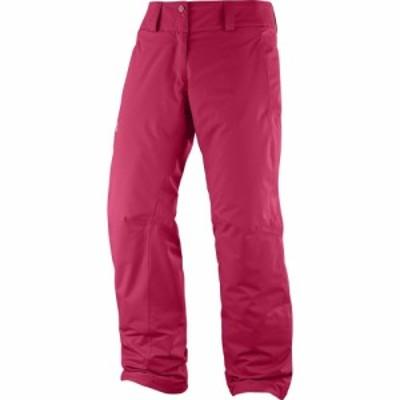 サロモン Salomon レディース スキー・スノーボード ボトムス・パンツ Express Pants Lotus Pink