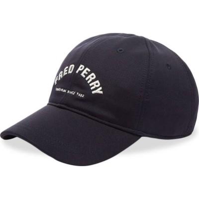フレッドペリー Fred Perry Authentic メンズ キャップ 帽子 arch logo cap Carbon Blue/White