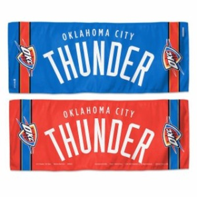 WinCraft ウィンクラフト スポーツ用品  WinCraft Oklahoma City Thunder 12 x 30 Double-Sided Cooling Towel
