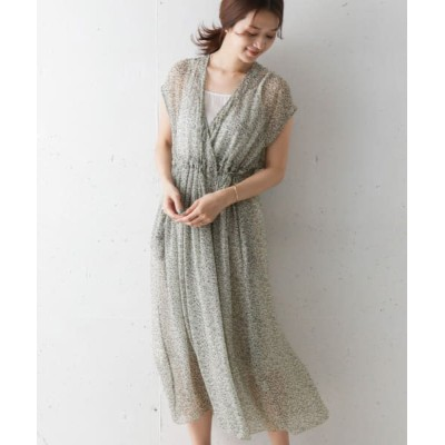 (URBAN RESEARCH OUTLET/アーバンリサーチ アウトレット)【DOORS】SOIL 別注CACHE COEUR DRESS/レディース OFFFLOWER