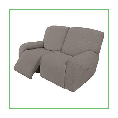 Easy-Going 6 Pieces Recliner Loveseat Stretch Sofa Slipcover Sofa Cover Furniture Protector Couch Soft with Elastic Bottom Kids, Spandex Jac