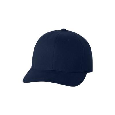 Yupoong Flexfit? つや消し6パネルキャップ 6377 US サイズ: Small-Medium カラー: ブルー
