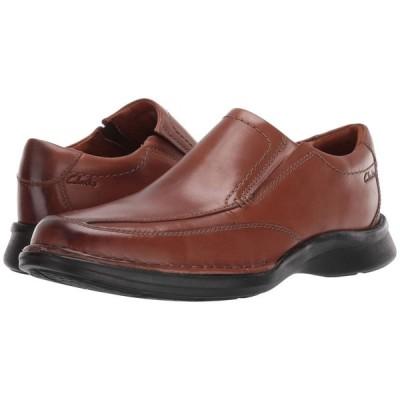 クラークス Clarks メンズ ローファー シューズ・靴 Kempton Free Tan Leather
