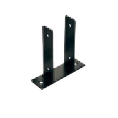 タカショー タンモクウッド部材シリーズ専用金具 柱用スタンド 90角木製用ベースプレート