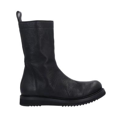 リック オウエンス RICK OWENS ブーツ ブラック 40 革 ブーツ