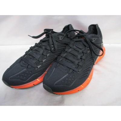 Reebok リーボック Zip kinetica/スニーカー サイズ27.5cm ブラック×オレンジ メンズ