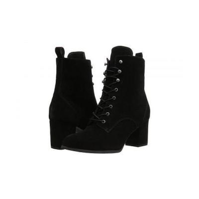 Blondo ブロンド レディース 女性用 シューズ 靴 ブーツ レースアップブーツ Dan Waterproof - Black Suede
