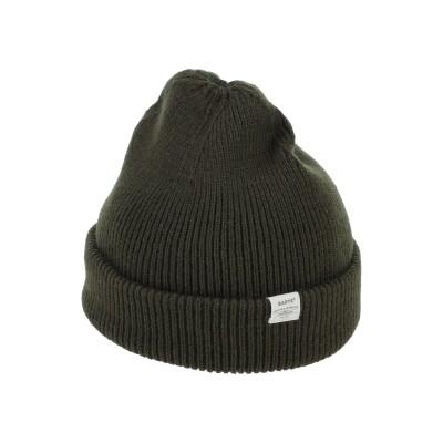 BARTS 帽子 ミリタリーグリーン one size アクリル 100% 帽子