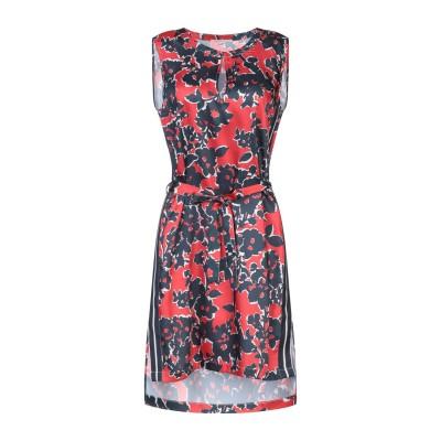 GAS ミニワンピース&ドレス レッド S ポリエステル 100% ミニワンピース&ドレス