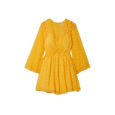 アリスマッコール ALICE McCALL ミニワンピース&ドレス イエロー 12 ポリエステル 100% ミニワンピース&ドレス