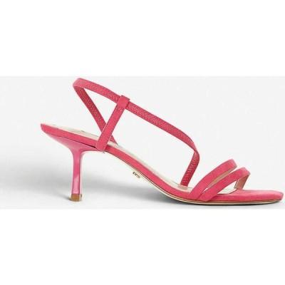 デューン DUNE レディース サンダル・ミュール オープントゥ シューズ・靴 Miso open-toe strappy sandals PINK SYNTHETIC