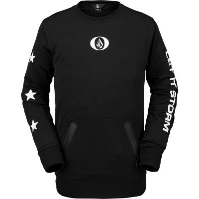 ボルコム Volcom メンズ スウェット・トレーナー トップス let it storm crew sweatshirt Black