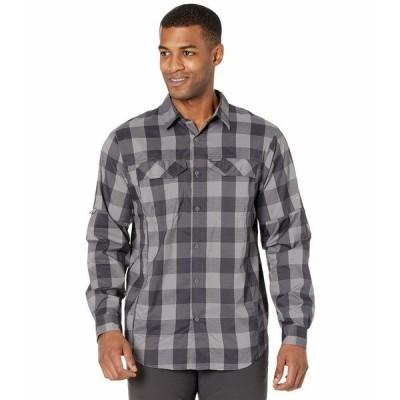 コロンビア シャツ トップス メンズ Silver Ridge Lite Plaid Long Sleeve Shirt City Grey Buffalo Plaid