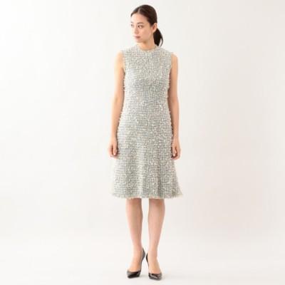 ファンシーツイードドレス