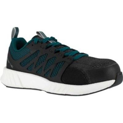 リーボック レディース スニーカー シューズ Fusion Flexweave Work RB314 Comp Toe Sneaker (Women's) Teal Knit