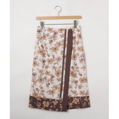 OFF PRICE STORE(Women)(オフプライスストア(ウィメン)) NATURAL BEAUTYフラワー柄スカート