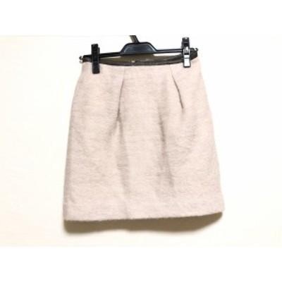 アプワイザーリッシェ Apuweiser-riche ミニスカート サイズ1 S レディース ピンク【中古】