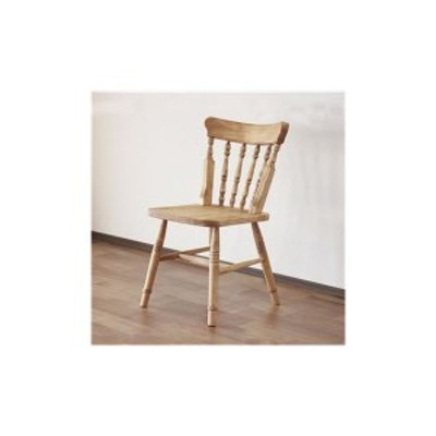 ダイニングチェア ナチュラルブラウン チェア 椅子 食卓椅子 チェアー 天然木 カントリー おしゃれ 北欧 完成品