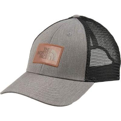 ノースフェイス 帽子 アクセサリー メンズ The North Face Men's Leather Dome Trucker Hat TnfMediumGreyHeather