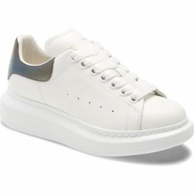 アレキサンダー マックイーン ALEXANDER MCQUEEN レディース スニーカー シューズ・靴 Platform Sneaker White/Amethyst