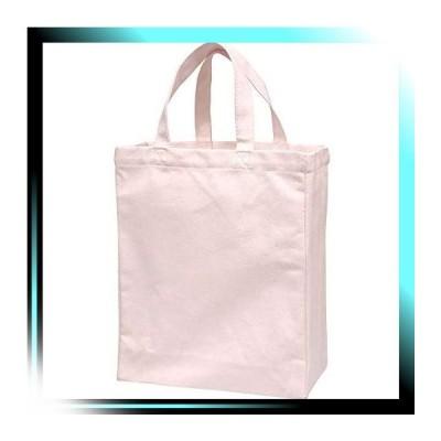 シュガーピンク 手提げ袋 厚手 コットンバッグ A4 マチ付き シュ