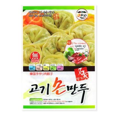【冷凍】 『名家』肉手餃子(420g) ギョーザ 手つくり 肉餃子 冷凍食品 加工食品 韓国料理