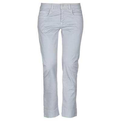 ブルー レ・コパン BLUE LES COPAINS パンツ ライトグレー 40 コットン 50% / ポリウレタン 50% パンツ
