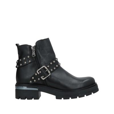 JEIDAY ショートブーツ ブラック 39 牛革(カーフ) ショートブーツ